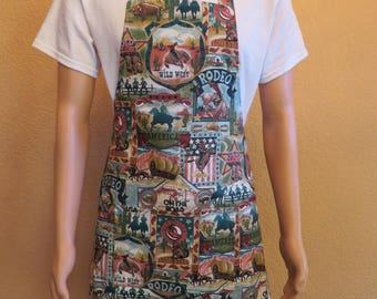Men's Apron for the Rodeo Enthusiast