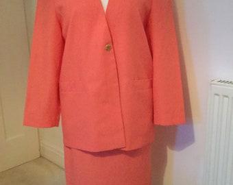 Vintage Jaques Vert 80's skirt suit. Great condition size 14