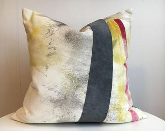 Chloe 2R - Hand Painted / Hand Crafted Accent Cushion Cover