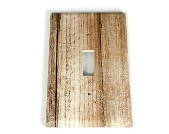 Switchplate  Light Switch Cover  Switch Plate in Whitewash (284S)