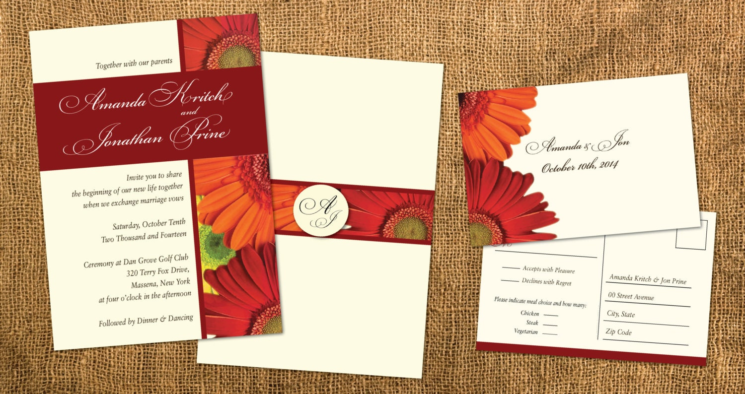 Magnificent Cheap Fall Wedding Invitations Picture Collection ...