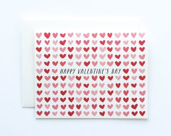 Valentine's Day Card, Valentine's Card, Valentine, Valentine's Day Cards, Heart Card, Hearts Card, Love Card