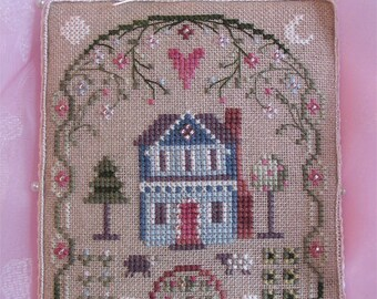 INSTANT DOWNLOAD Cross Stitch Chart for Brooke's Books Bride's Tree ornament: 1 of 12 Home