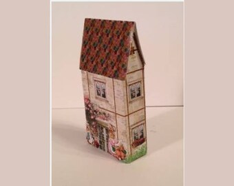 1:144 Lithographed Peter Rabbit House Kit / Dollhouse for your Dollhouse DI TY409