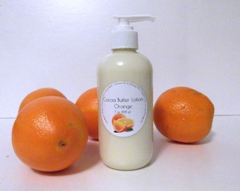 Orange Scented Cocoa Butter Lotion