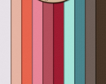 Digital Scrapbooking, Paper, Solid, Textured: Brighter Days