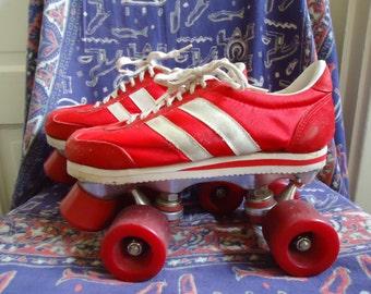 Vintage 80s ROLLER SKATES Tennis Shoe Style sz 6.5/7