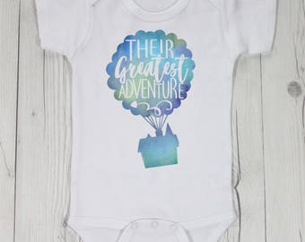 Their Greatest Adventure Baby Bodysuit Coming Home