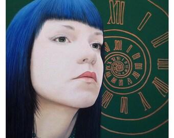 True Beauty - Dana McCool - ART PRINT - 8 x 10 - By Toronto Portrait Artist Malinda Prudhomme