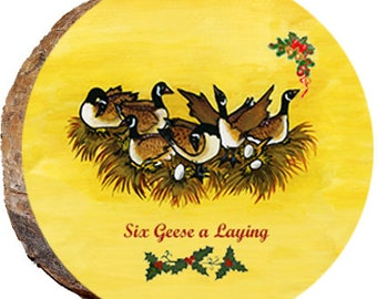 Six Geese A Laying - DX206