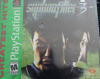 Syphon Filter 3 PlayStation 1 Game , New Condition , In The Original Shrink Wrap , Never Used , Never Opened , PlayStation 1 ,  Video Game