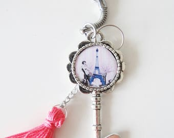 Key shaped Keychain jewelry bag