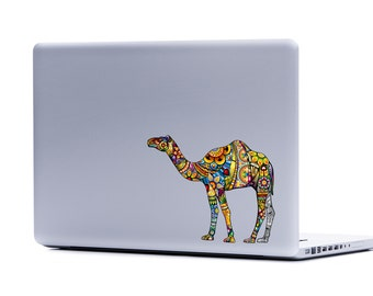 Camel Laptop Decal | macbook decal car window decal camel sticker stickers for laptops car decal vinyl decal nature decal animal decals