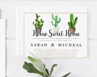 New Home Card UP invite UP new home Housewarming Party