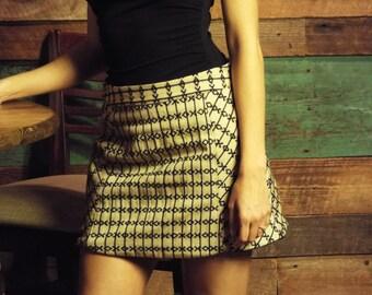 XOXO A-Line Handwoven Fair Trade Skirt