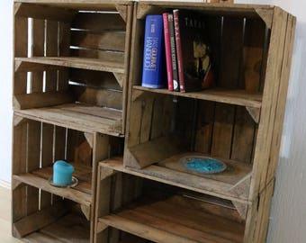 ringbox holz ringkissen vintage hochzeit ringk stchen. Black Bedroom Furniture Sets. Home Design Ideas