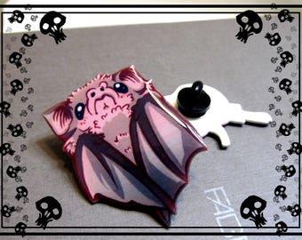 Vampire Bat Pin - Folded Bat