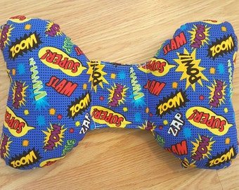 Super Hero Infant Head Support - Torticollis - Positional Plagiocephaly - Elephant Ear Pillow - Car Seat Head Support - Baby Shower Gift