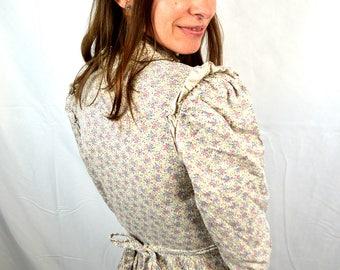 Vintage 1970s Gunne Sax Hippie Peasant Prairie Dress