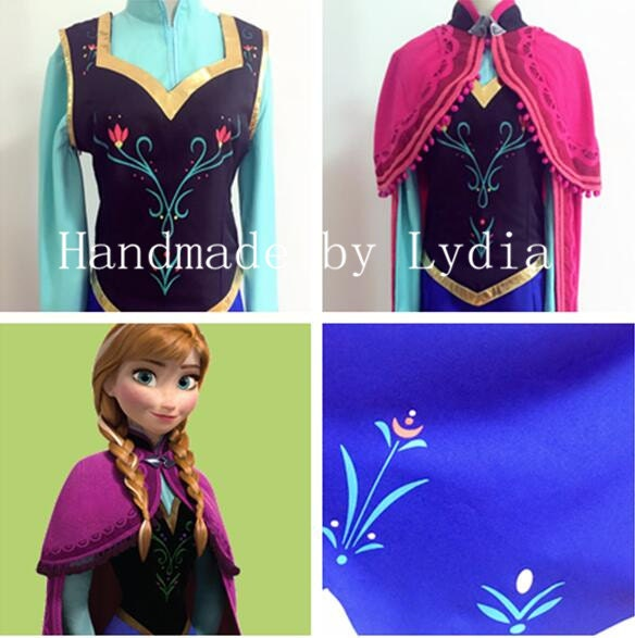 ?zoom  sc 1 st  Etsy : frozen anna costume kids  - Germanpascual.Com