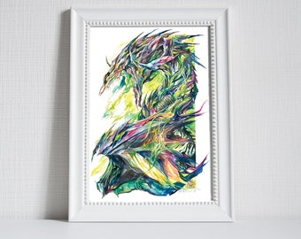 Print ~ Undead Dragon