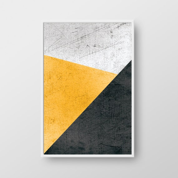 Printable Geometric Wall Art Geometric Print Scandinavian