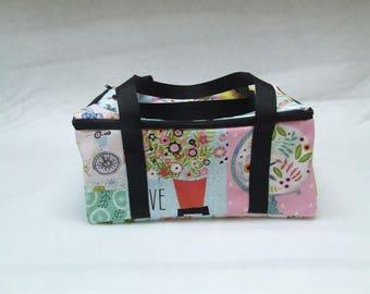 Cricut Easy Press Carrying Case / Cricut Easy Press Bag /  Cricut Easy Press Tote / Pick your fabric choice from the photos shown