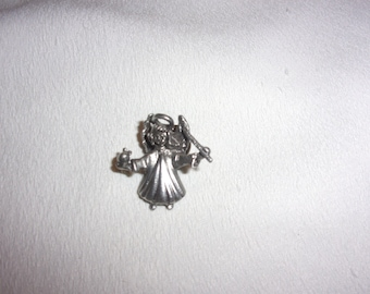 vintage teacher angel pin brooch, estate jewelry