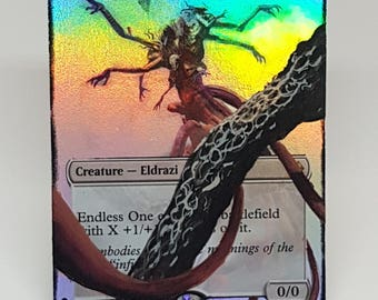 Magic the Gathering foil Endless One alter