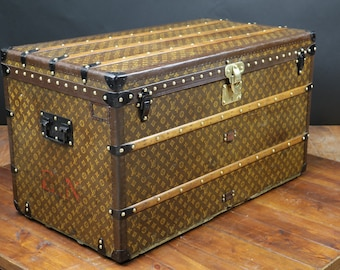 Louis Vuitton monogram Steamer trunk