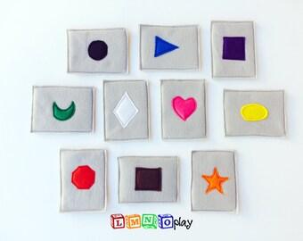 basic shape playing cards