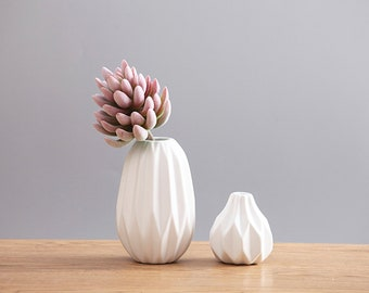 Handmade Ceramic Succulent Vase