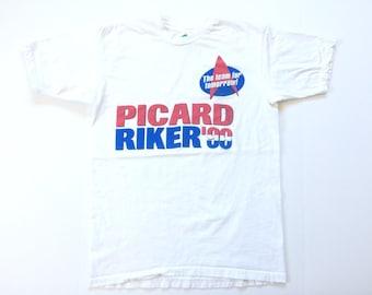 Vtg. Star Trek 1996 Vintage Political T-Shirt / Size Large