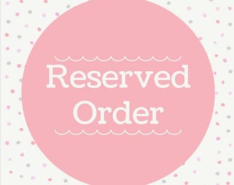 Reserved Order for Ramona