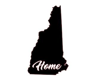 New Hampshire Home Vinyl Decal
