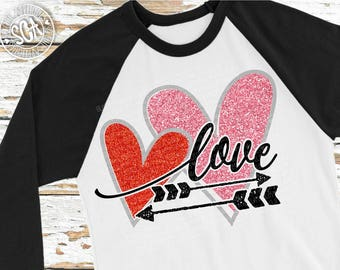 Heart svg, Valentines Day SVG, Love arrow svg, Grunge svg, cupid svg, socuteappliques, Valentines cut file, wedding svg, engagement svg