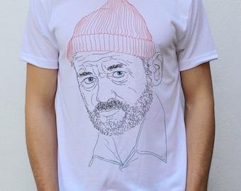 Bill Murray T shirt, Steve Zissou