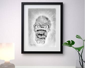 Zombie, Art Original and  Print Available