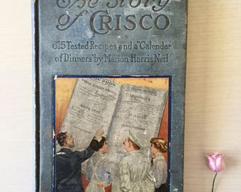 Antique Crisco Cookbook- 1914- Recipes -Ephemera