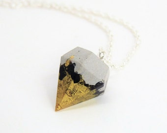 Necklace Concrete Diamond * Magical touched * No. 14-Gift-