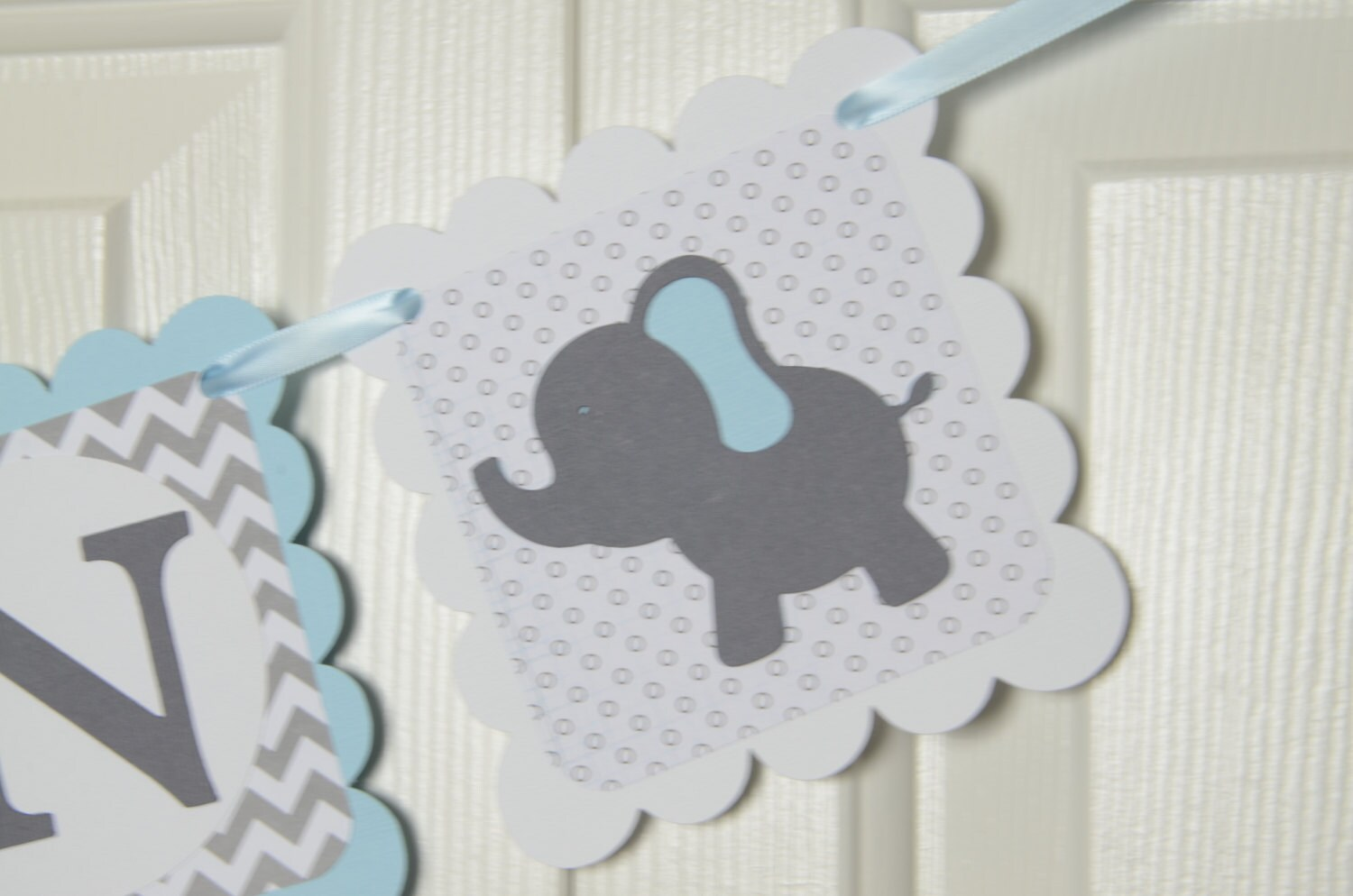 gray shower teal boy idea etsy set baby lovely stickers elephant blue design ideas manificent of luxury and