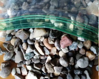 Colorful Tiny Stones/Pebbles for crafts, mosaics, fairy gardens, terrariums, and much more