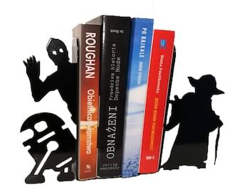 STAR WARS - Decorative Bookends - R2-D2 & C-3PO or Yoda, The Last Jedi, Gadget, Gift