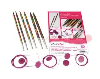 KnitPro Symfonie Interchangeable circular knitting starter set