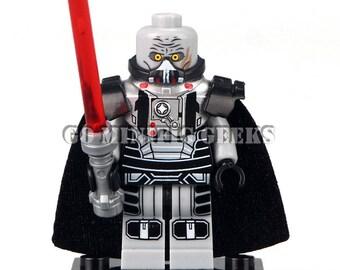 Custom Darth Malgus Classic Minifigure Star Wars Fits Lego UK Seller