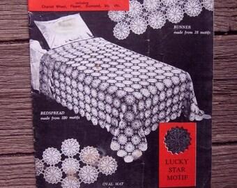 PARAGON CROCHET MOTIFS Book 109 1940s