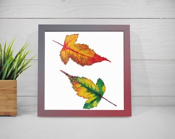 Small Birch Leaves