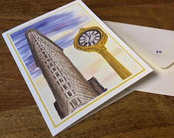 NYC's Flatiron Building Notecards