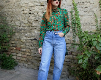 Vintage Jeans 80s / Mom Jeans / High Waisted Jeans / Boyfriend Jeans / Baggy Jeans / High rise Jeans / Vintage Denim Pants / Hipster Jeans