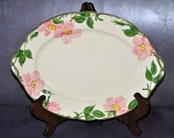 Pink Dogwood Platter Franciscanware Vintage